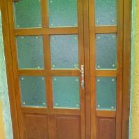 Kültéri bejárati ajtó egyedi méretre gyártva