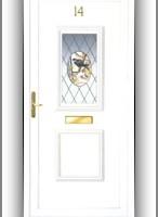Oxfordshire O2 műanyag ajtó díszpanel