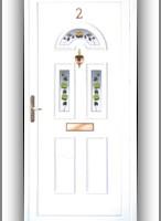 Berkshire B3 műanyag bejárati ajtó díszpanel