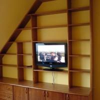 Beépített nappali bútor