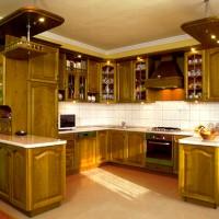 Egyedi konyhabútor világítással