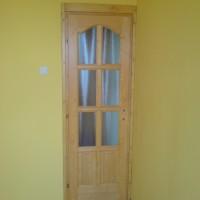 8 kazettás fa beltéri ajtó
