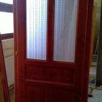 Üveges beltéri ajtó készítés