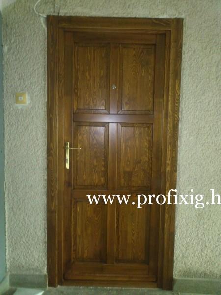 festett ajtók