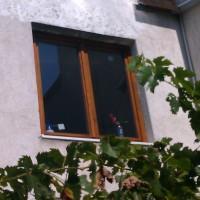 Festett hőszigetelt ablak