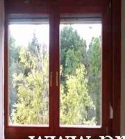 Kétszárnyú fa ablak