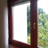 Réz kilincses fa ablak