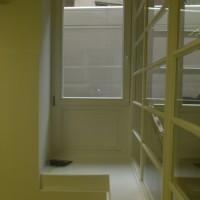 fehér bukó-nyíló fa ablak