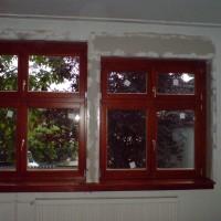 Kétszárnyú faablakok cseréje
