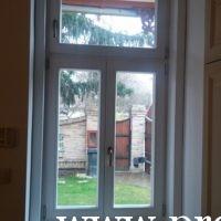 Műemlék ablakcsere régi tokba építve