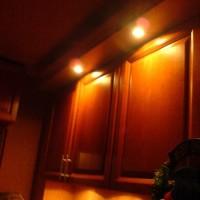 Spotvilágítás konyhabútorra