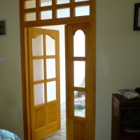 üveg nélküli beltéri ajtó