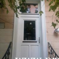 Bejárati ajtók beépítése