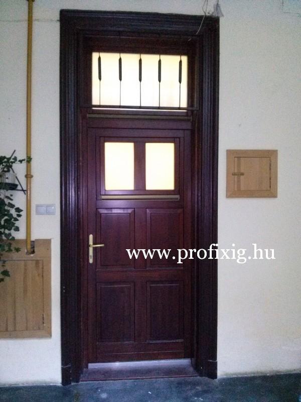 Bontás nélküli ajtócsere