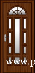 Műanyag bejárati ajtó beépítése VII.kerület